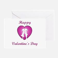 Lesbian Valentine Greeting Card