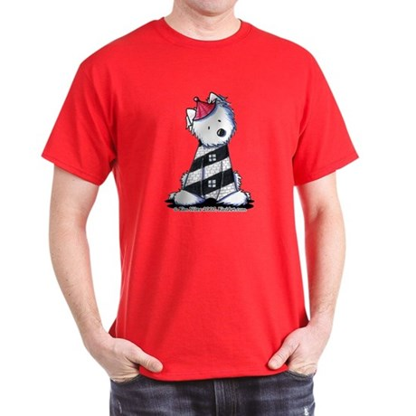 Lighthouse Westie Dark T-Shirt