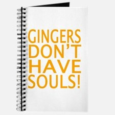 Cute Gingers do have souls Journal