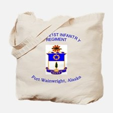 3rd bn 21st inf Tote Bag