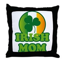 Irish Mom Throw Pillow