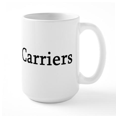 I Love Mail Carriers Large Mug