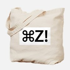 Command Z! Tote Bag