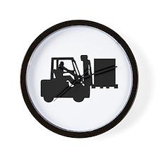 Forklift Wall Clock