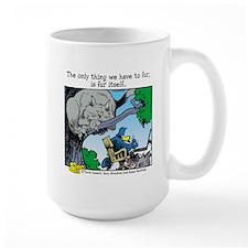 Fur Itself Large Mug