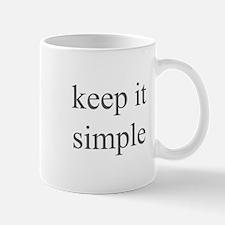keep it simple Mug