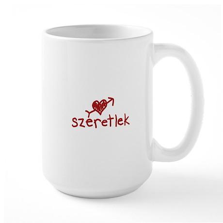 Szeretlek Large Mug