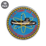 """USS TUNNY 3.5"""" Button (10 pack)"""