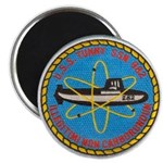 """USS TUNNY 2.25"""" Magnet (100 pack)"""