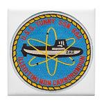 USS TUNNY Tile Coaster