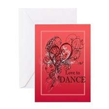 Love to Dance Greeting Card