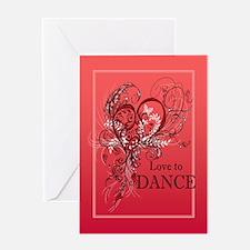 Love to Dance Greeting Card