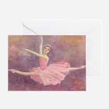 """Sugar Plum Fairy"" Single Greeting Card"