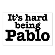 It's hard being Pablo Postcards (Package of 8)
