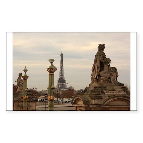 Paris Rectangle Sticker