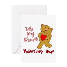 1st Valentine's Day Greeting Card