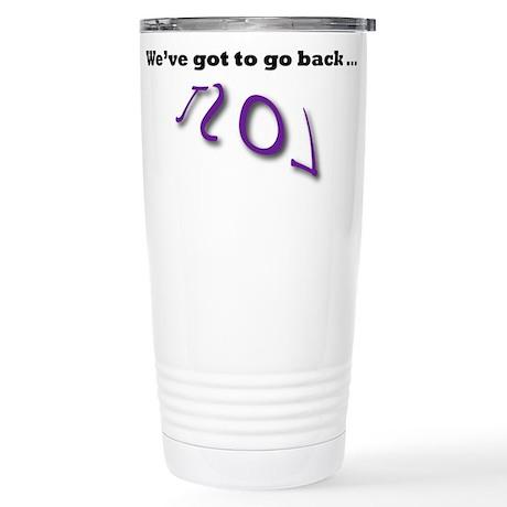 lost Stainless Steel Travel Mug