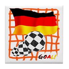 Goal Germany Tile Coaster
