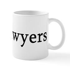 I Love Lawyers Mug