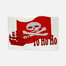 Yo Ho Ho Pirate Rectangle Magnet