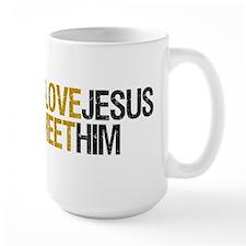 Honk Text Jesus Mug