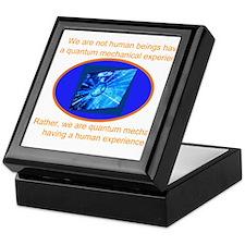 Quantum Mechanics quotes&Jokes Keepsake Box