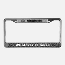 Worldwide Animal Liberation License Plate Frame