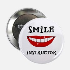 """LET'S SEE SOME TEETH 2.25"""" Button (10 pack)"""