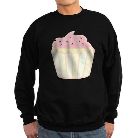Pink Cupcake Sweatshirt (dark)