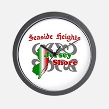 Seaside Heights Jersey Shore Wall Clock