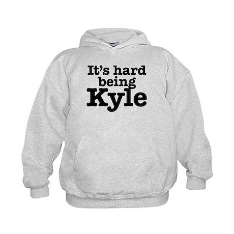 It's hard being Kyle Kids Hoodie