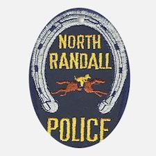 Randall Police Oval Ornament