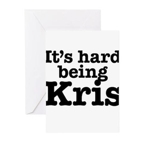 It's hard being Kris Greeting Cards (Pk of 20)