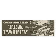 Great American Tea Party Bumper Bumper Sticker