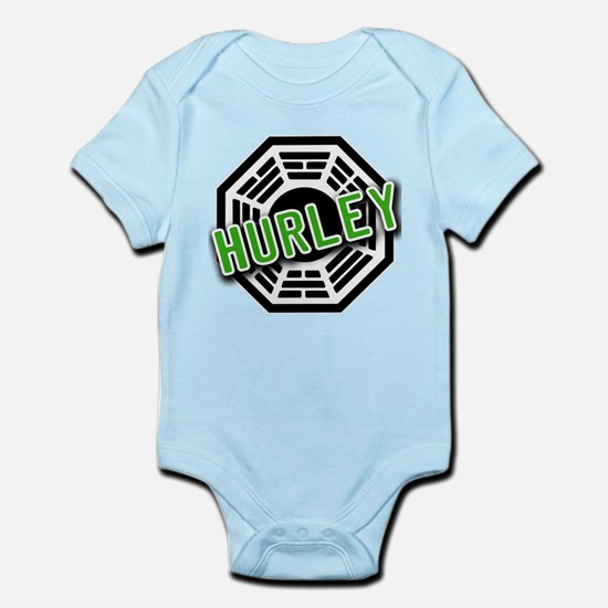 HURLEY Dharma Logo from LOST Infant Bodysuit