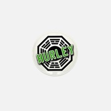 HURLEY Dharma Logo from LOST Mini Button