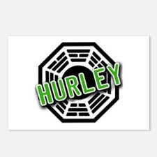 HURLEY Dharma Logo from LOST Postcards (Package of
