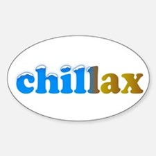 Chillax Decal