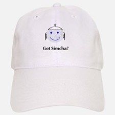 Got Simcha? Breslov Theme White Baseball Baseball Cap