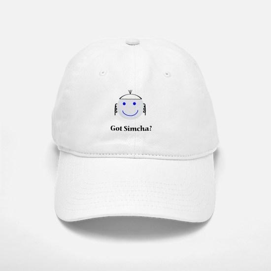 Got Simcha? Breslov Theme White Baseball Baseball Cap