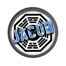 JACOB Dharma Logo from LOST Wall Clock