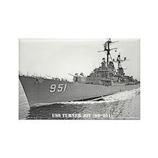 USS TURNER JOY Rectangle Magnet