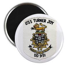 "USS TURNER JOY 2.25"" Magnet (10 pack)"