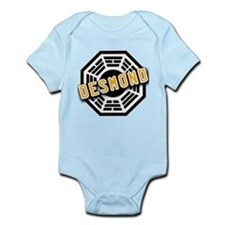 Jacob Dharma Logo from LOST Infant Bodysuit