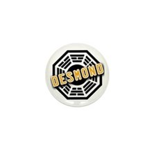 Jacob Dharma Logo from LOST Mini Button (10 pack)