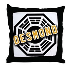 Jacob Dharma Logo from LOST Throw Pillow