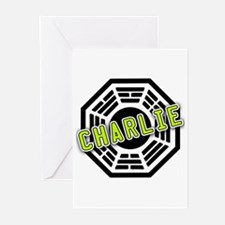 Charlie Dharma Logo from LOST Greeting Cards (Pk o