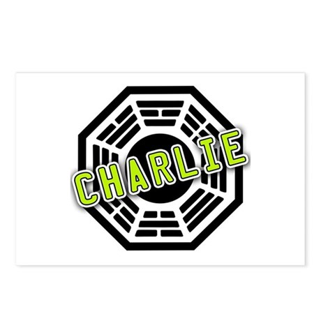 Charlie Dharma Logo from LOST Postcards (Package o