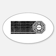 Lost Dharma Initiative Oval Decal