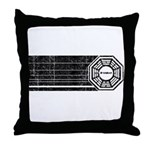 Lost Dharma Initiative Throw Pillow
